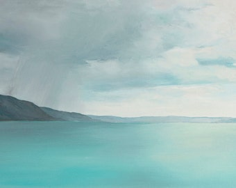 Art card print- Approaching Storm-   by Lauriann Wakefield  of Bear Lake