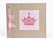 Baby Book - Baby Memory Book - Girl, Princess, Baby Album - Little Princess Baby Memory Book - Hugs and Kisses XO Baby Memory Book