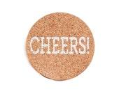 Cheers!  (cork coasters)