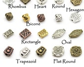 Celtic & Antique Style Beads, Many Shapes and Colors, Nickel Free Tibetan Silver Alloy- DIY Jewelry and Crafts