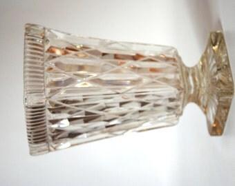 Vintage Victorian Crystal Vase