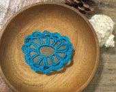 Crocheted Rock Paperweight