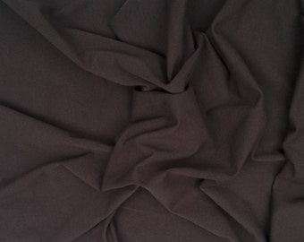 Light Brown Cotton Fabric Jersey Knit Stretch by Yard 1/16/15