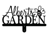 """Personalized Name Garden Sign 