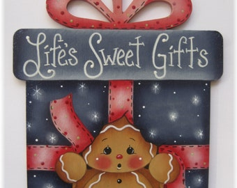 Lifes Sweet Gifts Gingerbread Painting E-Pattern