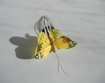 Butterfly Hair Clip, Butterfly Hair Slide, Bridal Hair Accessory, Woodland Wedding, Choice of Colours.