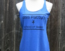 Miss Patty's School of Ballet Racerback Tank Top