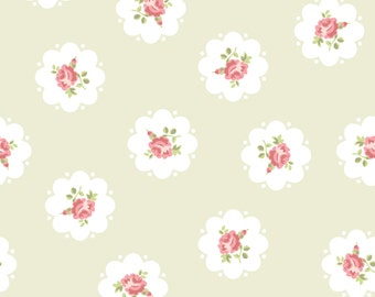 Floral designer Removable wallpaper with water-activated adhesive backing