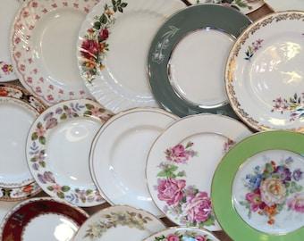 Mismatched Job Lot of 100 Side / Tea  Plates