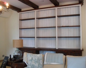 Custom made hutch from reclaimed wood made in the USA
