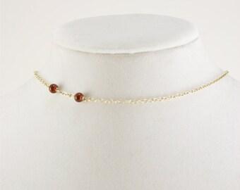 Vampire Bite Necklace, Choker Necklace, Vampire Jewelry, Gothic Jewelry, Vampire Costume, Halloween Jewelry