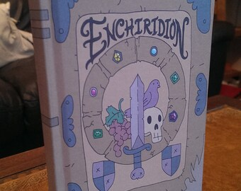 ENCHIRIDION .. blank notebook..fan made cosplay prop