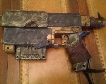 STEAMPUNK gun, Blue, Nerf Recon toy gun ! For cosplay