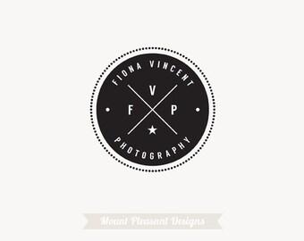 Premade logo design - vintage logo design & watermark
