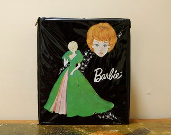 1963 Black Single Barbie Case with Blonde Bubblecut wearing Sophisticated Lady