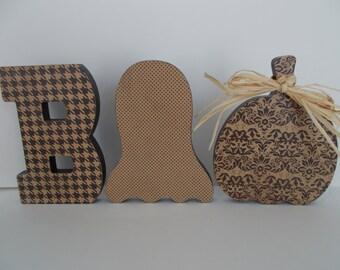BOO Letters Halloween Decor