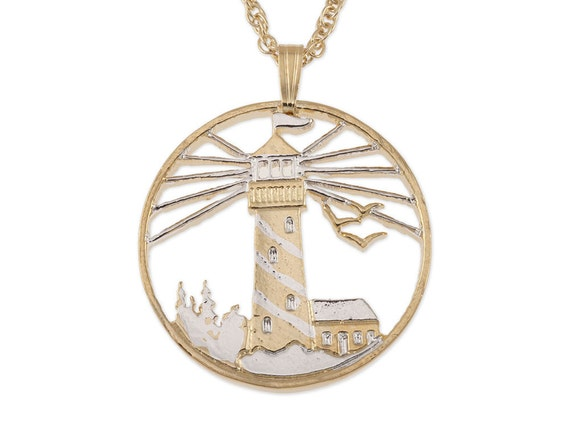 lighthouse pendant and necklace jewelry lighhouse by