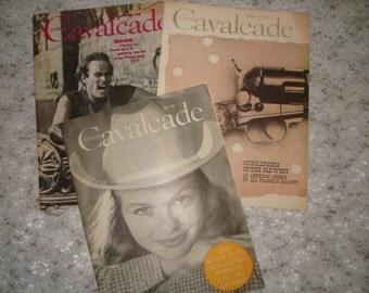 Literary Cavalcade Magazine Vintage 1959 and 1960