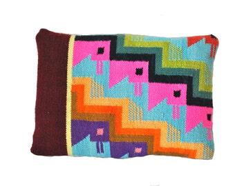 Peruvian Textile Pillow 11x15