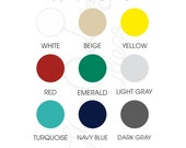 Solid cotton fabric plain white beige yellow red emerald green light gray turquoise navy blue black by yard 100% cotton