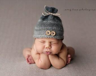 Newborn Boy Photo Prop Hat, Baby  Boy Fall Hat , Newborn baby boy  Winter hat hat