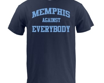 Memphis Against Everybody - Lt Blue on Navy