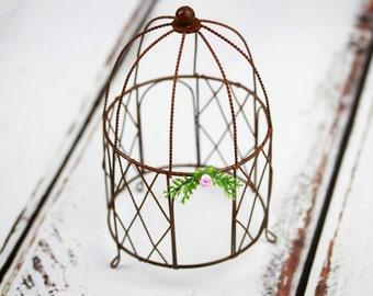 Fairy Garden Gazebo - miniature accessories - furniture - arbor - terrarium