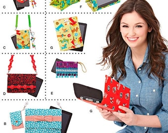 Simplicity 1339 / 0633 Tablet, E-Reader, and Phone Covers Sewing Pattern