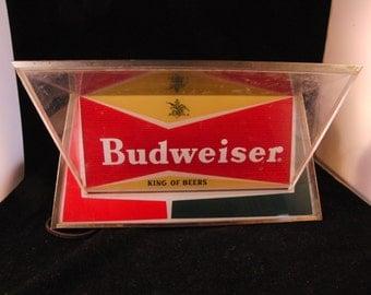 Vintage Budweiser sign