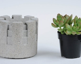 Cement Planter, Turret