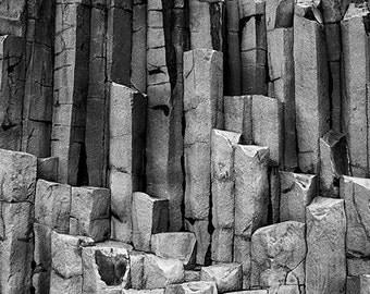 Basalt Columns, Iceland. 8x10 print by Ryan Muirhead. Unsigned.