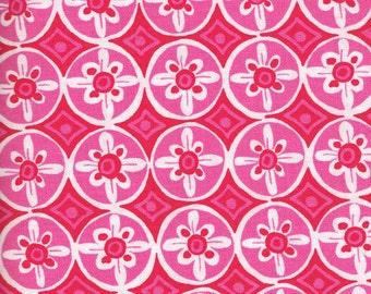 Quilt / Quilting Fabric Dena Designs Tea Garden Magenta Free Spirit Fabrics  By The Yard Quality Cotton