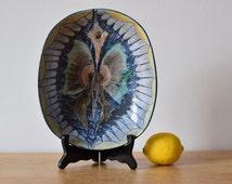 Vintage Sweden - bowl - animal motif - Tilgmans Sweden - midcentury