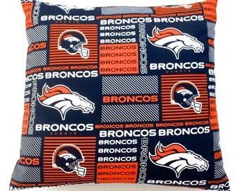 Denver Broncos Pillow Cover