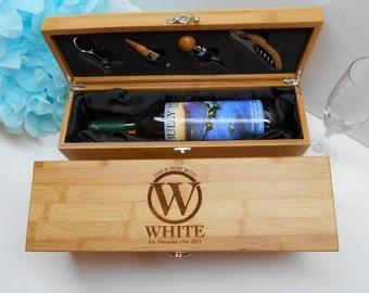 Personalized Wine Box, Wedding Wine Box, Ceremony Wine Box, Anniversary Wine Box, Wine Box Ceremony,Wine Box, Client Gift
