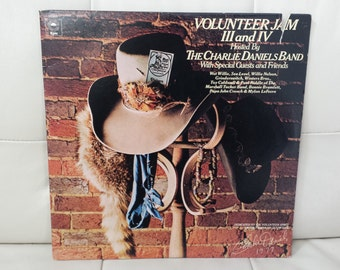"The Charlie Daniels Band- ""Volunteer Jam III And IV"" vinyl record"
