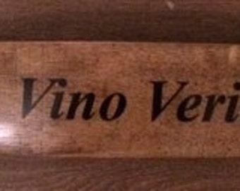 Wine Barrel Stave Sign