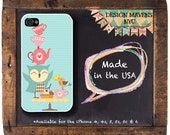 Owl Have Tea iPhone Case,Tea Cup iPhone Case, Cute Owl iPhone Case, iPhone 4, iPhone 5, iPhone 5s, iPhone 5c, iPhone 6, 6s, 6 Plus