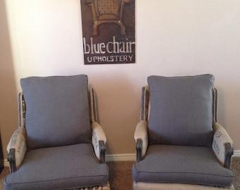 Vintage Coffee Bean Sack Chairs