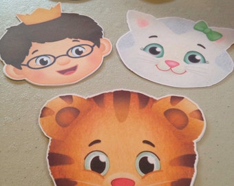 Daniel Tiger and Friends Faces Only