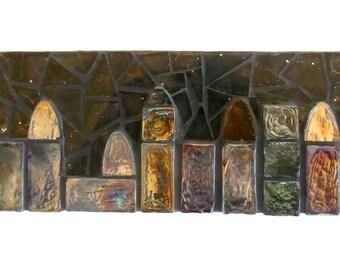 Mosaic Wall Panel - 3D Cityscape