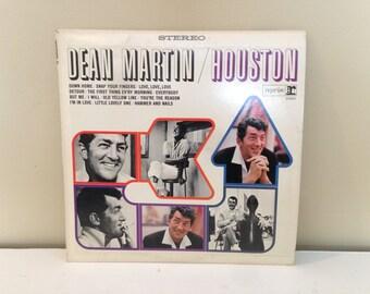 "Dean Martin ""Houston"" vinyl record"