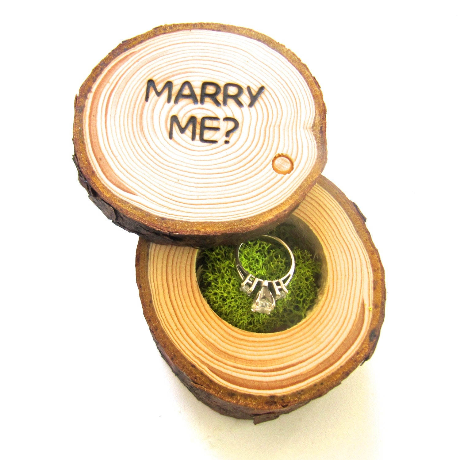 Proposal ring box wedding proposal box engagement ring box for Cute engagement ring boxes