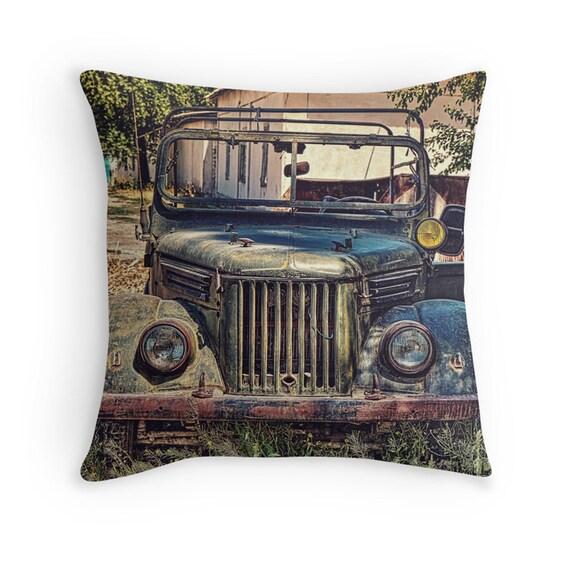 Throw Pillows Kmart : Tajik Jeep Photo Throw Pillow Cover Home Decor 16x16 18x18