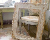 DOLLHOUSE French baroque frame, 1''SCALE Shabby style - Accessory for a dollhouse in 1:12th scale