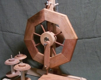 Bergthora single treadle Spinning Wheel