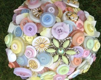 Springtime Button Bouquet