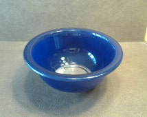 On Sale Newer 322 Pyrex Navy Blue Glass Serving or Mixing Bowl Small Container Vintage Kitchen