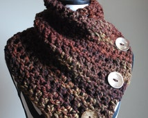 Crochet Pattern - Large Boston Harbor Scarf - Crochet Scarf - Chunky Scarf - Oversized Scarf- Hand Crocheted - Handmade Scarf