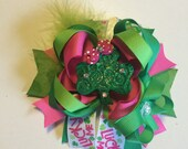 St Patricks day luck bow